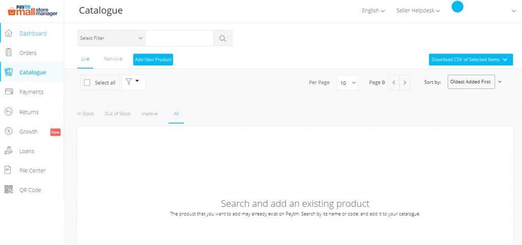 paytm seller app