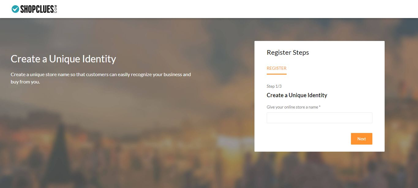 Shopclues-Seller-Registration Step-2