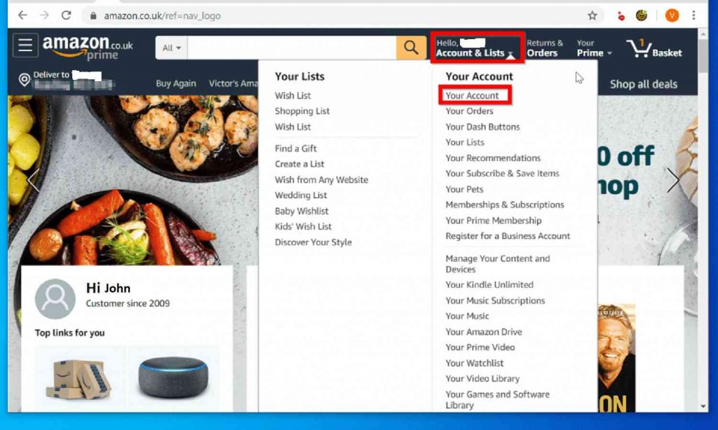 how to change shipping address in amazon after placing order