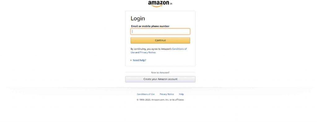 amazon invoice download
