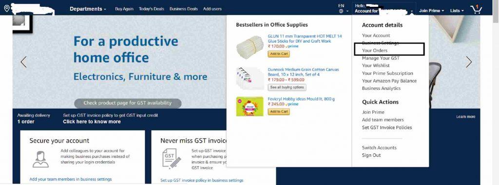 amazon invoice generator