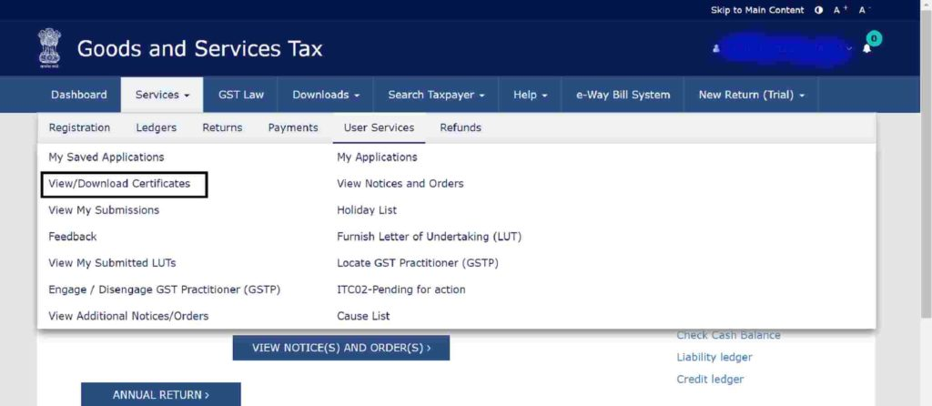 Step-4-how-to-download-gst-certificate-from-portal