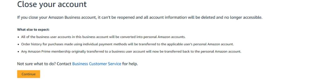 how to delete amazon account india