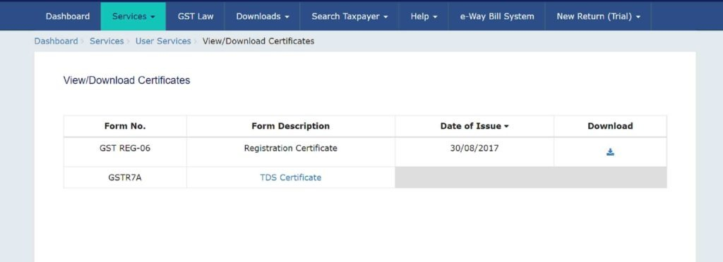 Step-5-how-to-download-gst-certificate-from-gst-website