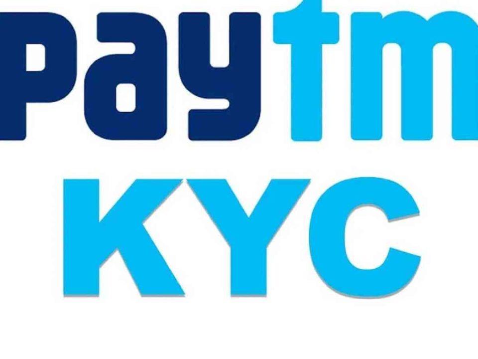 paytm kyc