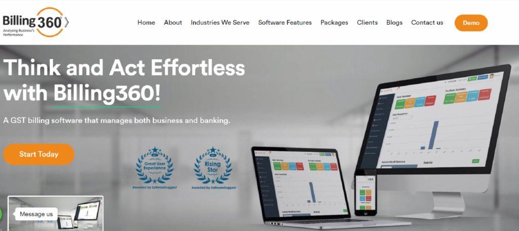 kirana shop billing software