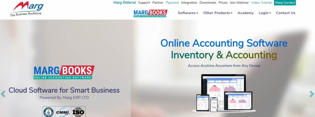 marg billing software