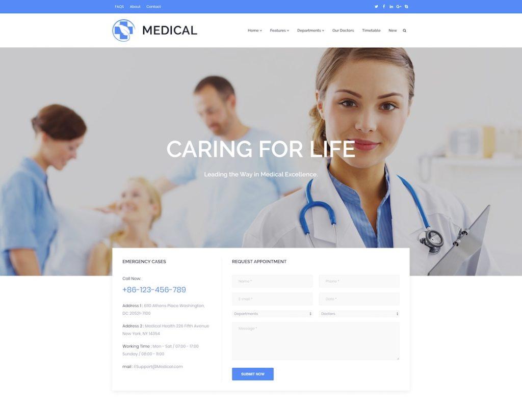 doctor-website-templates