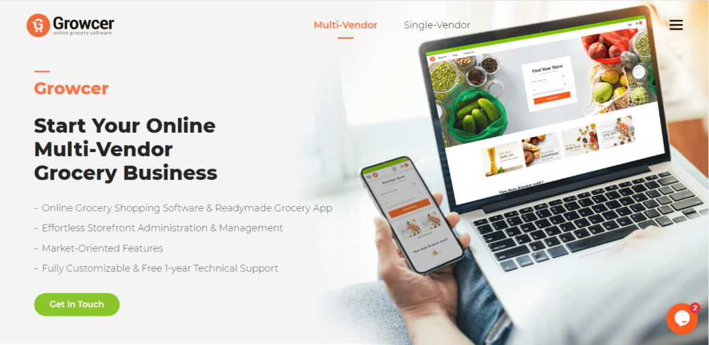 grocery-website